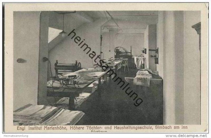 84359 Simbach am Inn - Englisches Institut Marienhöhe - Bügelzimmer