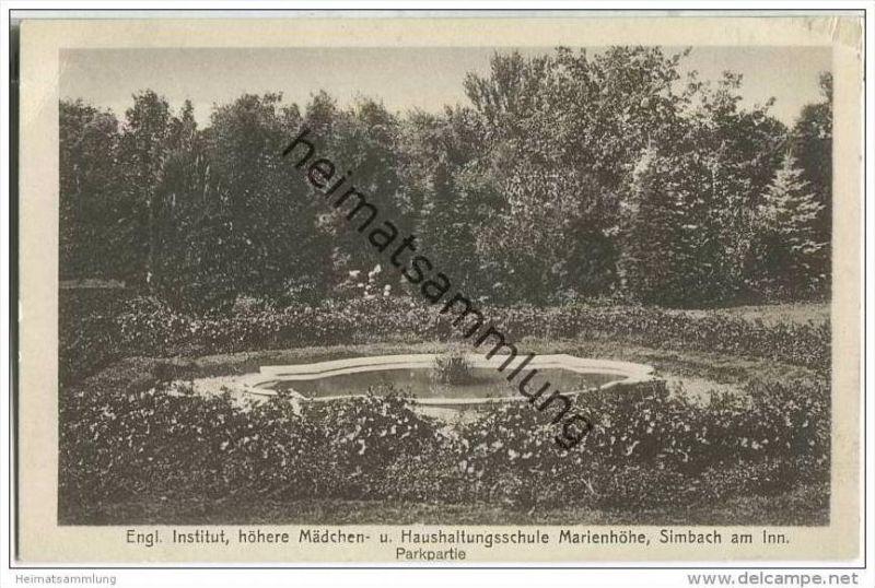 84359 Simbach am Inn - Park - Englisches Institut Marienhöhe