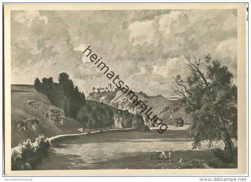 HDK503 - Fritz Bayerlein - Burg Kallmünz