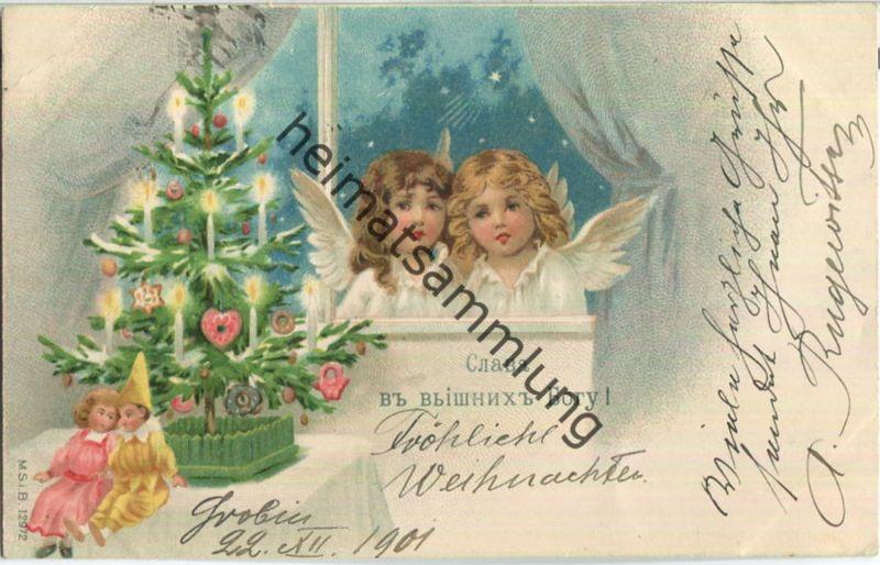 Engelchen - Puppen - Fröhliche Weihnachten - Russland - Grobin