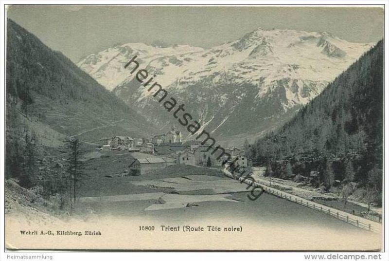 Trient - Route Tete noire