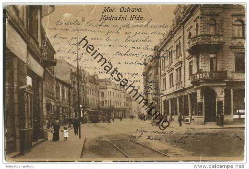 Mährisch Ostrau - Ostrava - Nadrazni trida
