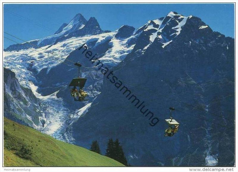 Grindelwald - Firstbahn - Oberer Grindelwaldgletscher - AK Grossformat
