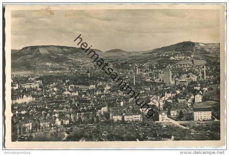 Jena - Blick auf die Stadt - Foto-AK