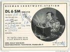 QSL - QTH - Funkkarte - DL6SM - Kusterdingen - 1957