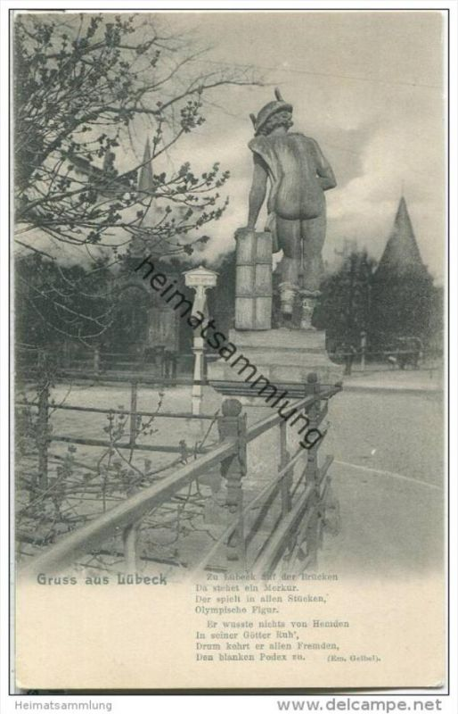 Lübeck - Puppenbrücke - Merkur