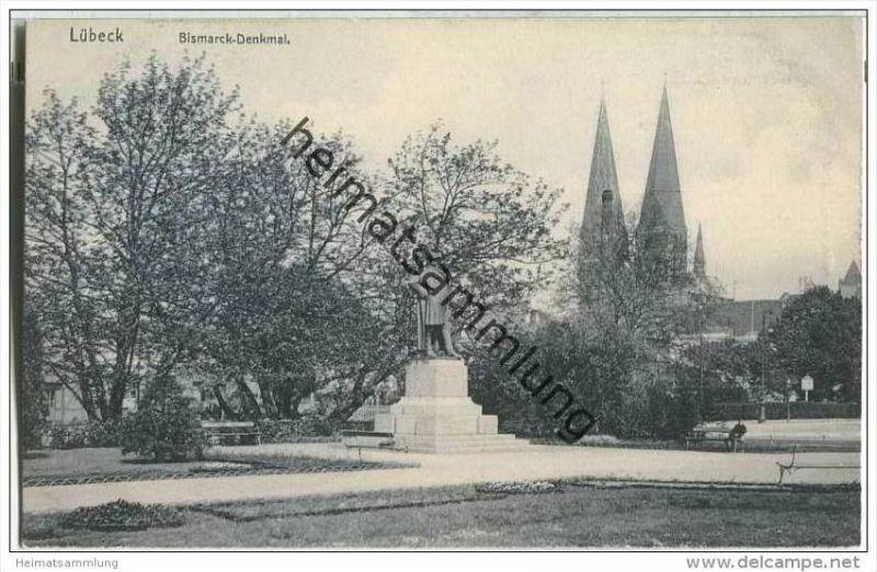 Lübeck - Bismarckdenkmal