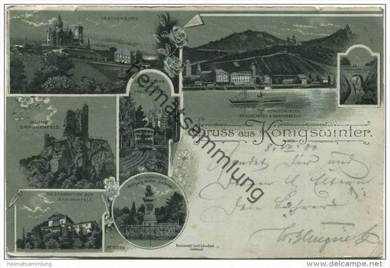 Königswinter - Drachenfels - Drachenburg