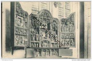 Lübeck - Marienkirche - Marienaltar in der Briefkapelle