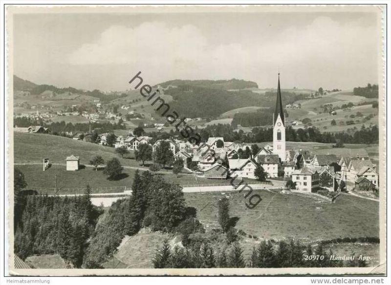 Hundwil - Foto-AK Grossformat