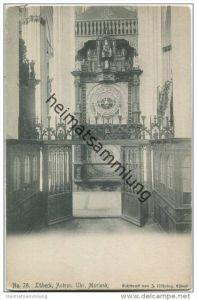 Lübeck - Marienkirche - Astronomische Uhr