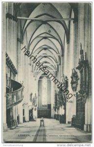 Lübeck - Marienkirche - Seitenschiff