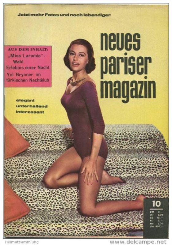 74c9047158a331 Neues Pariser Magazin 1961 - 52 Seiten Pin ups aus aller Welt - Klatsch und  Tratsch