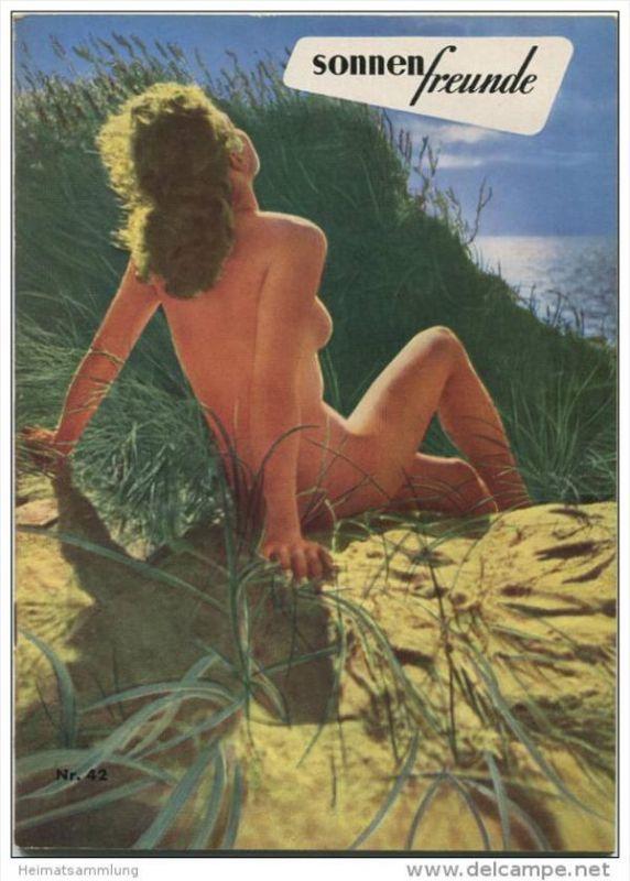 Sonnenfreunde - Offizielles Organ des Deutschen Bundes für Freikörperkultur 1953 - 40 Seiten mit vielen Abbildungen