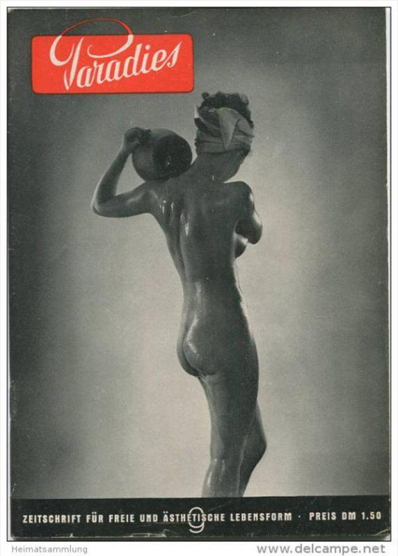 Paradies - Zeitschrift für freie und ästhetische Lebensform - 50 Seiten mit vielen Abbildungen - Heft Nr. 9