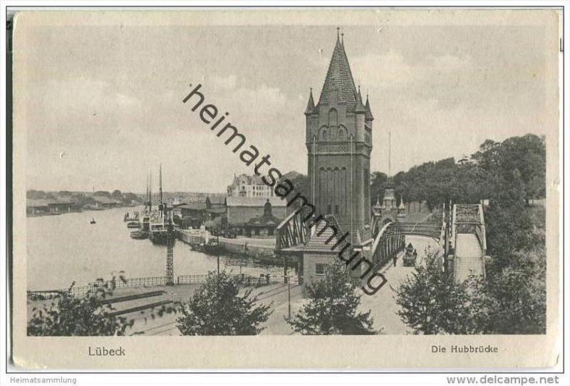 Lübeck - Hubbrücke