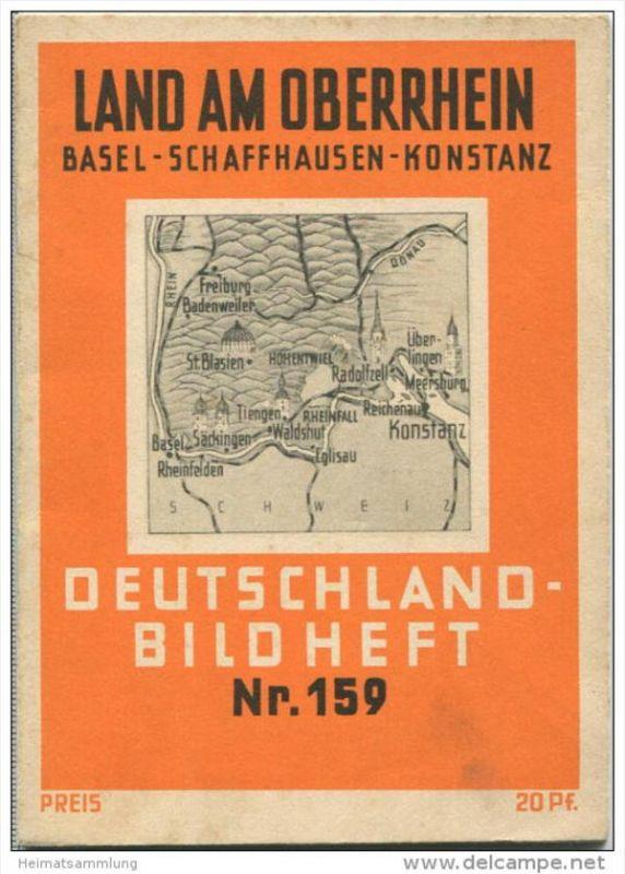 Nr.159 Deutschland-Bildheft - Land am Oberrhein - Basel - Schaffhausen - Konstanz