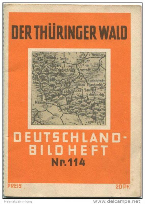 Nr. 114 Deutschland-Bildheft - Der Thüringer Wald