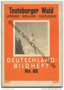 Nr. 85 Deutschland-Bildheft - Teutoburger Wald - Lippisches Bergland - Eggegebirge