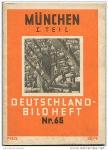 Nr. 65 Deutschland-Bildheft - München 1. Teil