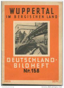 Nr. 158 Deutschland-Bildheft - Wuppertal im Bergischen Land