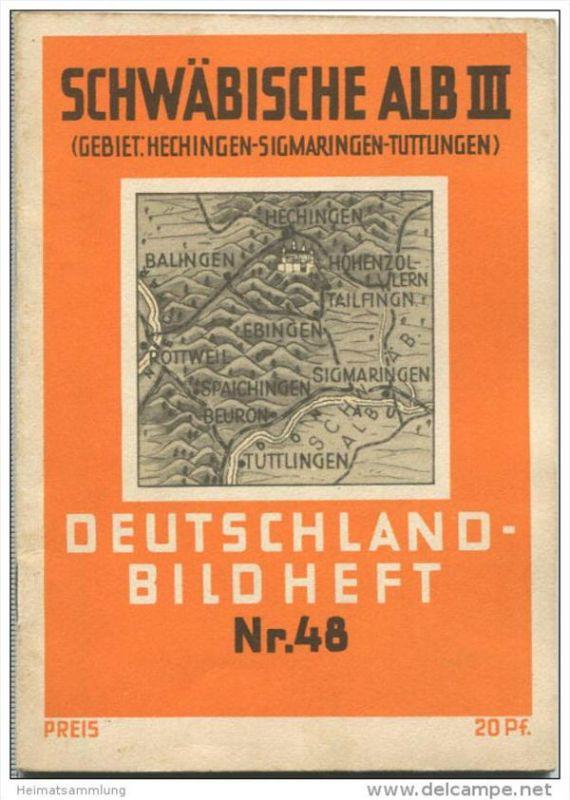 Nr. 48 Deutschland-Bildheft - Schwäbische Alb III - Gebiet Hechingen - Sigmaringen - Tuttlingen