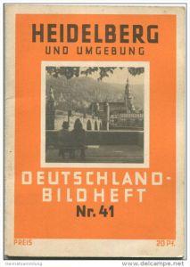 Nr. 41 Deutschland-Bildheft - Heidelberg und Umgebung