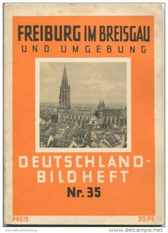 Nr. 35 Deutschland-Bildheft - Freiburg im Breisgau und Umgebung