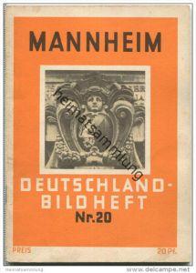 Nr. 20 Deutschland-Bildheft - Mannheim