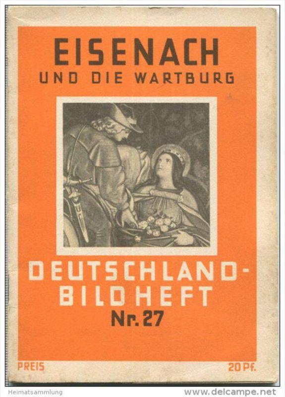 Nr. 27 Deutschland-Bildheft - Eisenach und die Wartburg