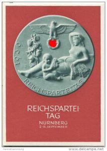 Postkarte - Reichsparteitag Nürnberg 1939