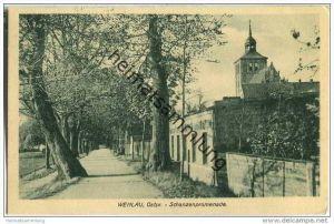 Snamensk (Kaliningrad) - Wehlau - Schanzenpromenade