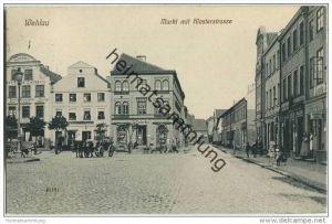Snamensk (Kaliningrad) - Wehlau - Markt mit Klosterstrasse