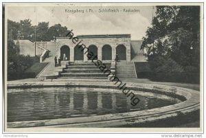 Kaliningrad - Königsberg - Schlossteich - Kaskaden