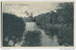 Kaliningrad - Königsberg - Schlossteich