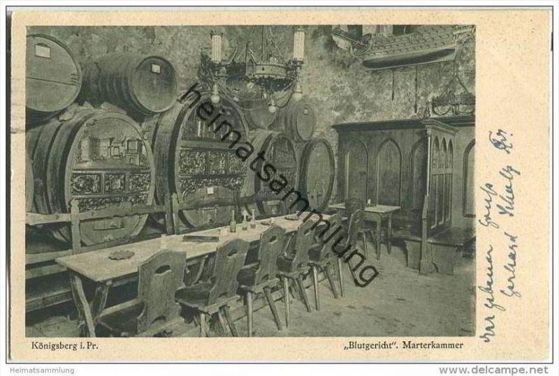 Kaliningrad - Königsberg - Blutgericht - Marterkammer