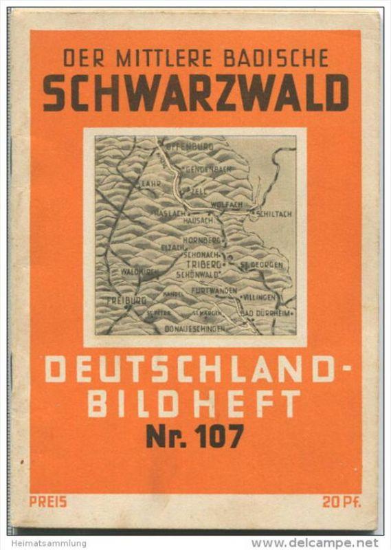Nr. 107 Deutschland-Bildheft - Der mittlere Badische Schwarzwald