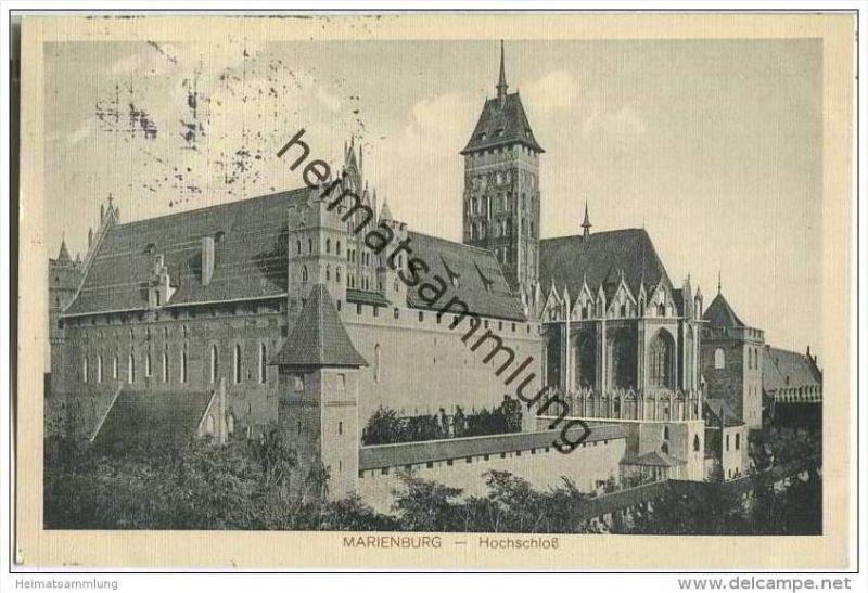Marienburg - Hochschloss