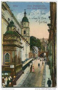 Wilna - Vilnius - Ostra Bramastrasse - Feldpost