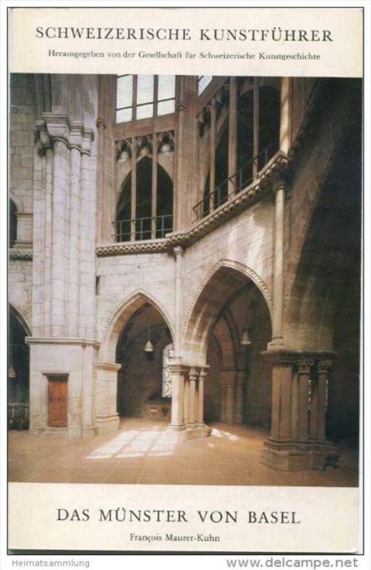 Basel 1986 - Das Münster - Schweizerische Kunstführer - 28 Seiten mit 32 Abbildungen