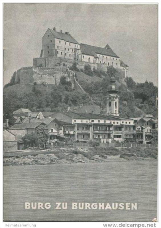 Burg zu Burghausen - Grosse Baudenkmäler - Heft 65 - 1950 - Deutscher Kunstverlag München Berlin - 16 Seiten mit 8 Abbil