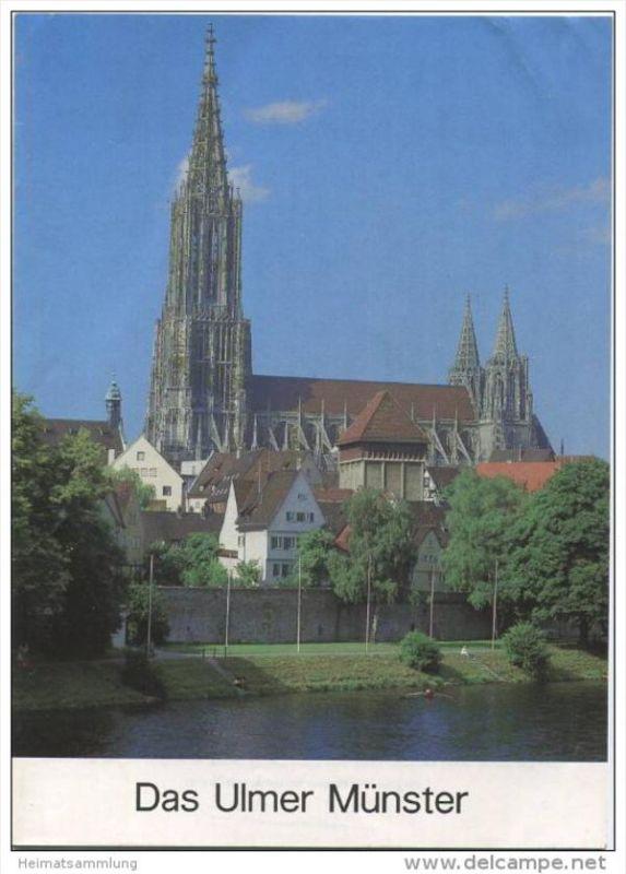 Das Ulmer Münster - Grosse Baudenkmäler - Heft 286 - 1985 - Deutscher Kunstverlag München Berlin - 18 Seiten mit 8 Abbil