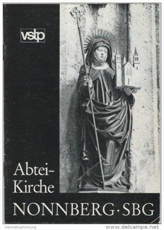Abtei-Kirche Nonnenberg - 16 Seiten mit 14 Abbildungen - Verlag St. Peter Salzburg 1970