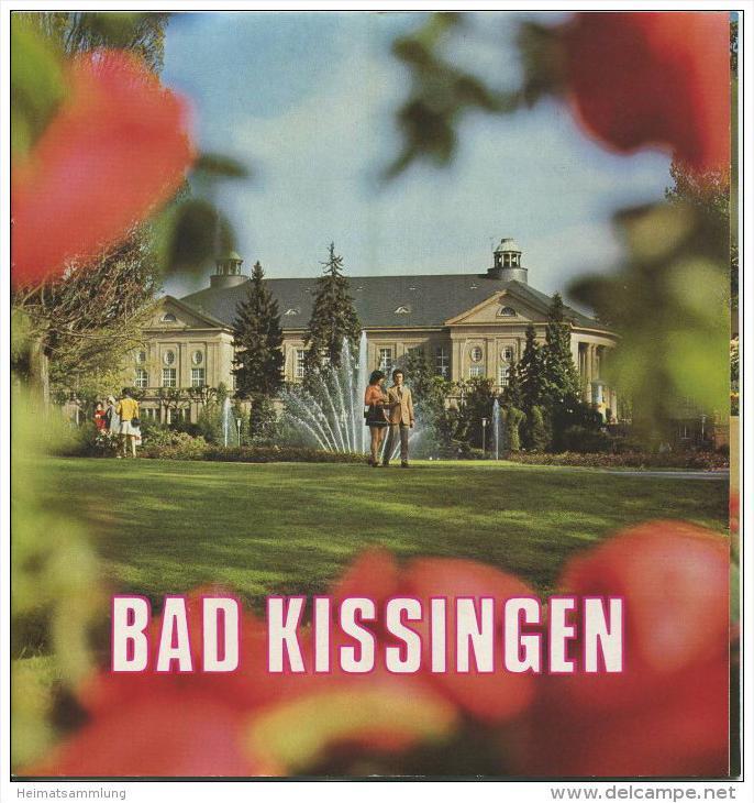 Bad Kissingen 1974 - 18 Seiten mit 27 Abbildungen - beiliegend Information Zimmernachweis 99 Seiten mit 92 Abbildungen v