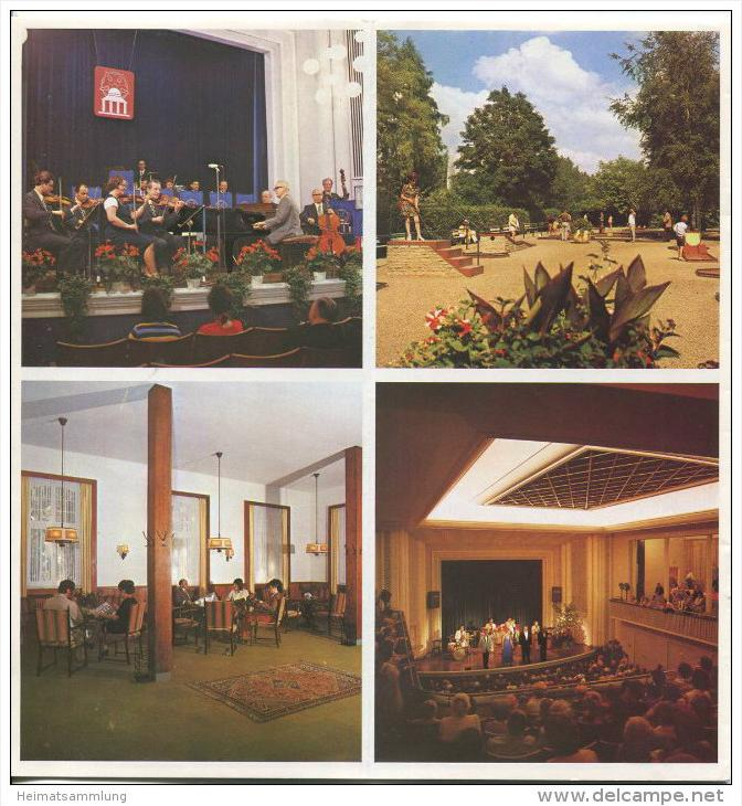 Bad Meinberg 70er Jahre - 16 Seiten 33 Abbildungen - beiliegend Wohnungsnachweis 1974 26 Seiten mit 80 Abbildungen von F 1