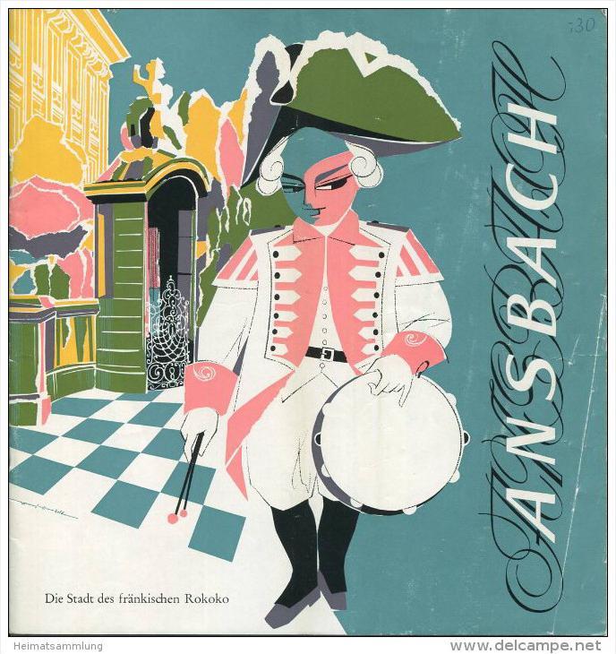 Ansbach 60er Jahre - 8 Seiten mit 22 Abbildungen