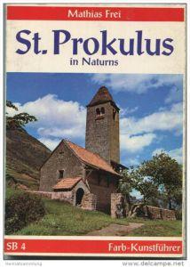 Italien - St. Prokulus in Naturns - Leporello mit 10 Farbaufnahmen in Postkartengrösse - 2. Auflage 1974
