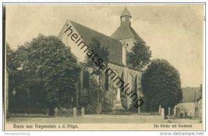 Wittstock - Freyenstein in der Prignitz - Kirche - Denkmal