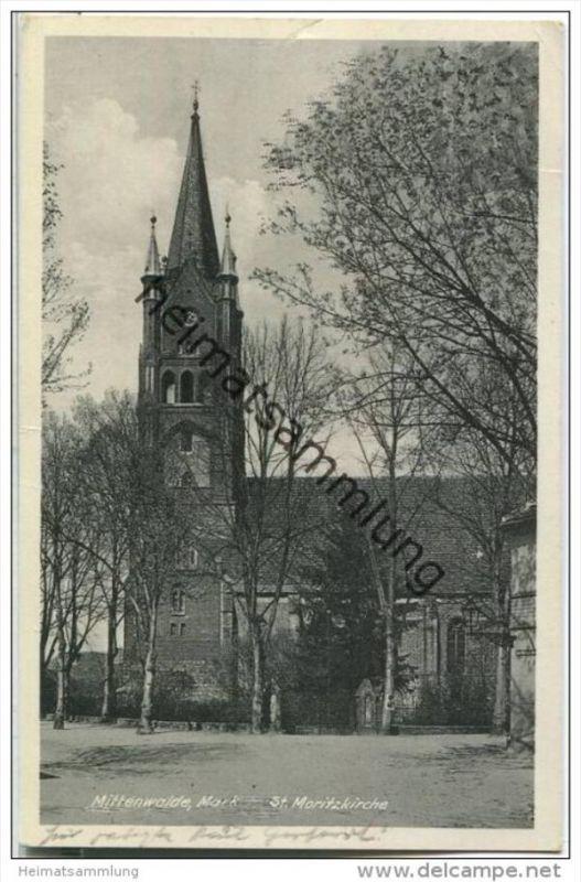 Mittenwalde - St. Moritzkirche