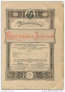 Illustriertes Briefmarken Journal - XXI Jahrgang Nr. 6 - März 1894 - Verlag Gebrüder Senf Leipzig